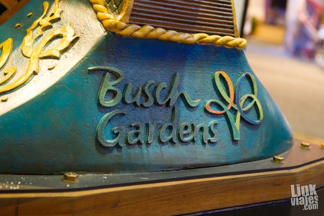 Busch Gardens - Nueva Montaña Rusa de Madera